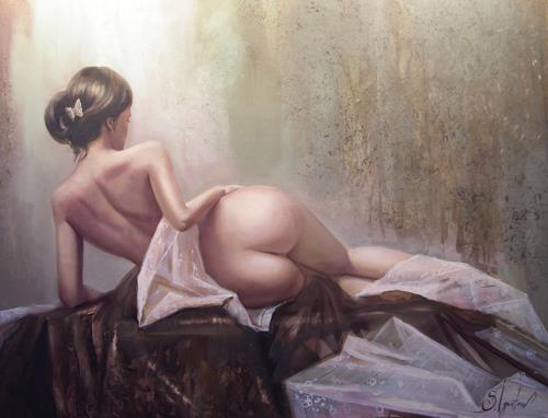 Sergey Ignatenko Art Erotic motifs: Female nudes People: Women Modern Age ...