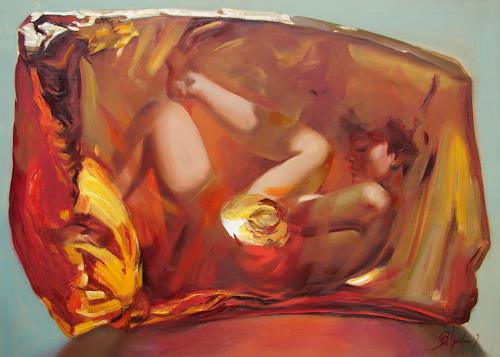 Sergey Ignatenko, Metamorphoses, Erotic motifs: Female nudes, Abstract art, Abstract Art, Abstract Expressionism