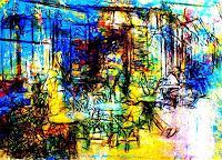 Lee Eggstein, Cafe Le Refuge Paris