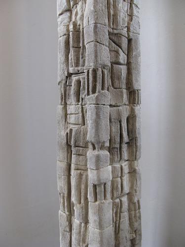 Bernard Jensch, TOTEM 12-01-13, Abstract art, Abstract art, Abstract Art, Abstract Expressionism