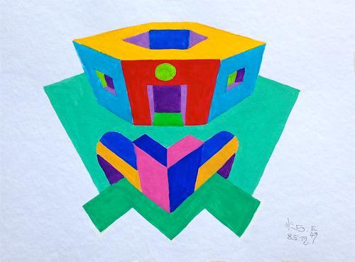 Hans Salomon-Schneider, E 49, Architecture, Constructivism