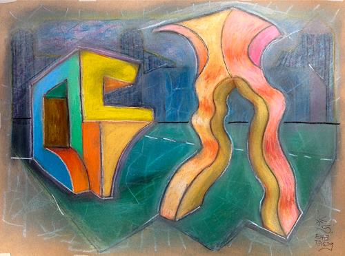 Hans Salomon-Schneider, E 53, Abstract art, Constructivism