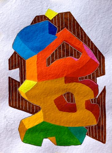 Hans Salomon-Schneider, Type Character 1, Miscellaneous, Constructivism