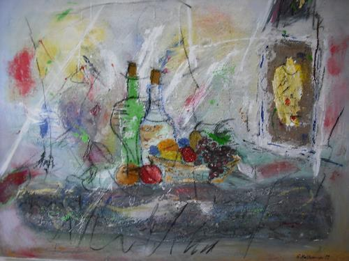 Acryl-Power, Lebensfreude, Abstract art, Meal, Abstract Expressionism