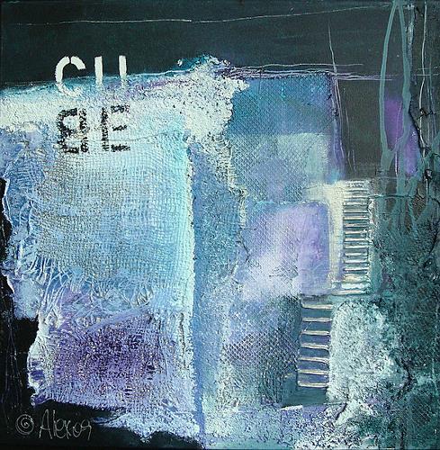 Alexandra von Burg, Cube, Abstract art, Abstract art, Abstract Art, Modern Age