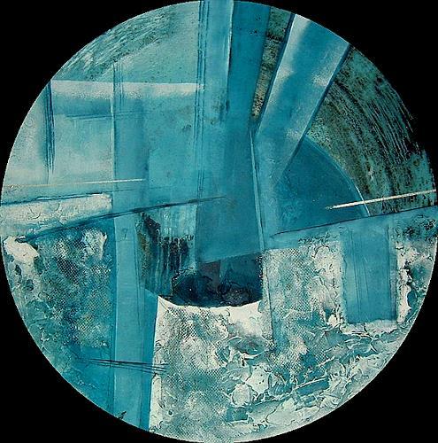 Alexandra von Burg, Forme e non forme 3, Abstract art, Abstract Art, Modern Age