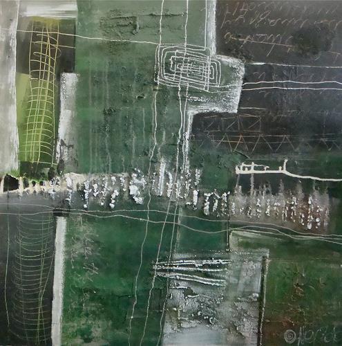 Alexandra von Burg, Interruzioni, Abstract art, Abstract Art, Modern Age