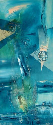 Alexandra von Burg, Oltre ogni orizzonte, Abstract art
