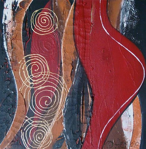 Alexandra von Burg, Rotondità, Abstract art