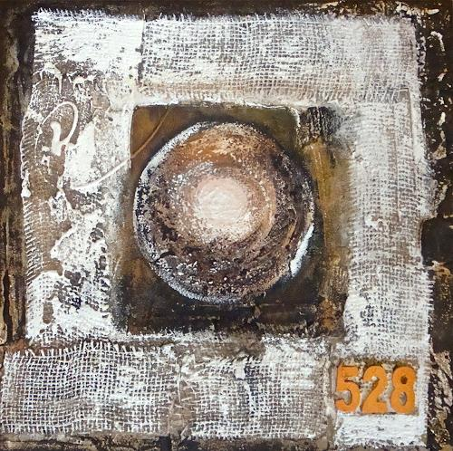 Alexandra von Burg, Pianeta 528, Abstract art