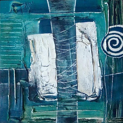 Alexandra von Burg, Incoraggiamento, Abstract art