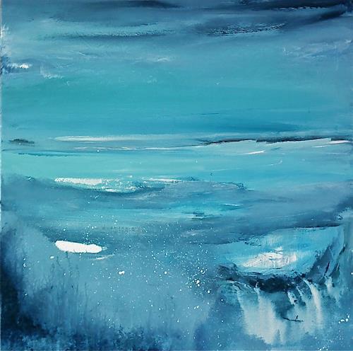 Alexandra von Burg, Semplicemente acqua, Abstract art, Expressionism