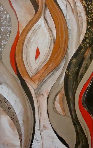 Alexandra von Burg, Risveglio, Abstract art