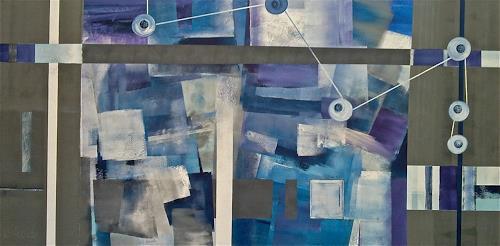 Alexandra von Burg, Connessioni contemporanee, Abstract art