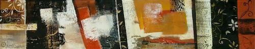 Alexandra von Burg, Frammenti floreali, Abstract art