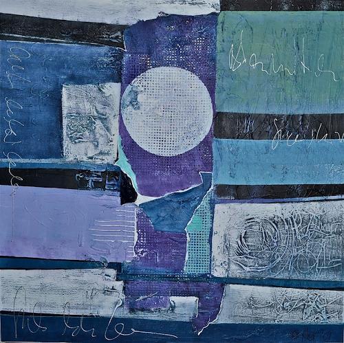 Alexandra von Burg, Trascendenza, Abstract art