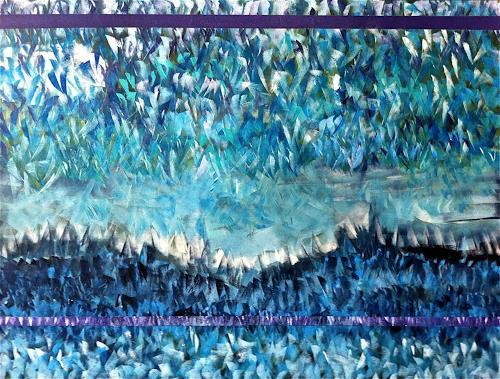 Alexandra von Burg, Summer breeze, Abstract art
