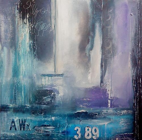 Alexandra von Burg, Turbolenze nordiche, Abstract art