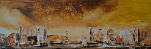 Alexandra von Burg, Impact, Abstract art