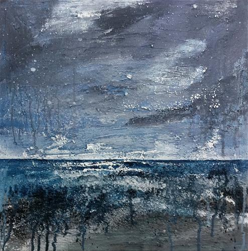 Alexandra von Burg, Oltre l'orizzonte, Abstract art