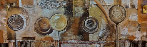 Alexandra von Burg, Spensieratezza, Abstract art