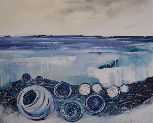 Alexandra von Burg, Arktikus, Abstract art, Abstract Art