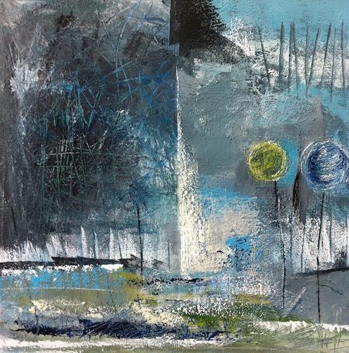 Alexandra von Burg, La partenza, Abstract art
