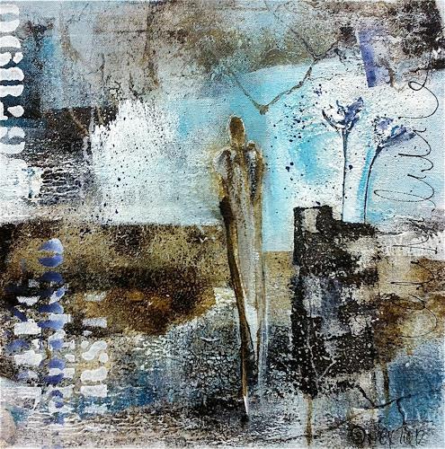 Alexandra von Burg, Solitaire, Abstract art, Expressionism