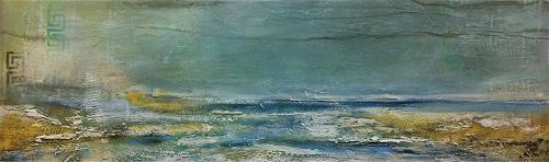 Alexandra von Burg, Eternity, Abstract art