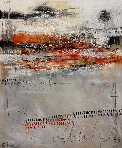 Alexandra von Burg, Polarità, Abstract art, Expressionism