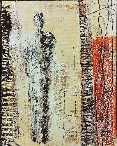 Alexandra von Burg, Urban people IV, Abstract art