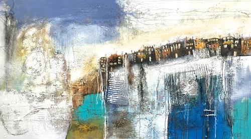 Alexandra von Burg, Profumo del mare, Landscapes, Expressionism