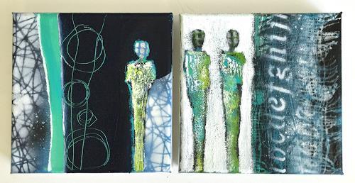 Alexandra von Burg, Osservando il Mondo, People, Contemporary Art