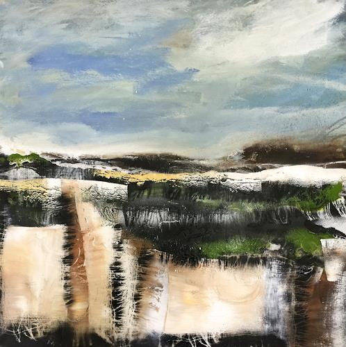 Alexandra von Burg, Fuori Mondo, Landscapes, Contemporary Art