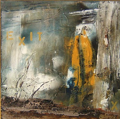 Alexandra von Burg, Exit X, Abstract art, Abstract Art