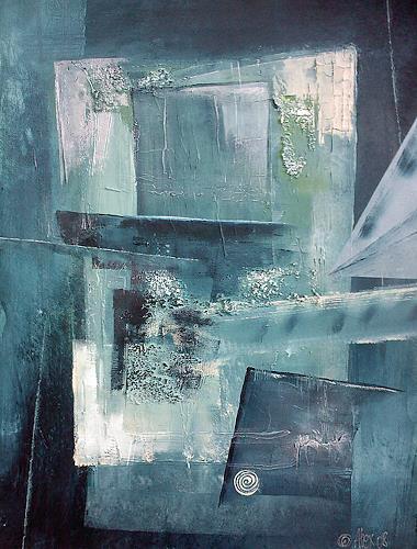 Alexandra von Burg, Finestra sulla Maggia, Abstract art, Abstract Art, Modern Age