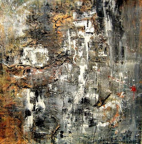 Alexandra von Burg, Frammenti di un paesaggio, Abstract art, Abstract Art, Modern Age