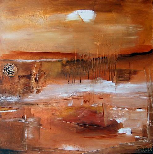 Alexandra von Burg, Terra viva, Abstract art, Abstract Art