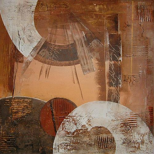 Alexandra von Burg, Forme e non forme 4, Abstract art, Abstract Art, Modern Age