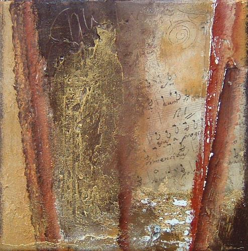 Alexandra von Burg, Ouverture 1, Abstract art, Abstract Art, Modern Age