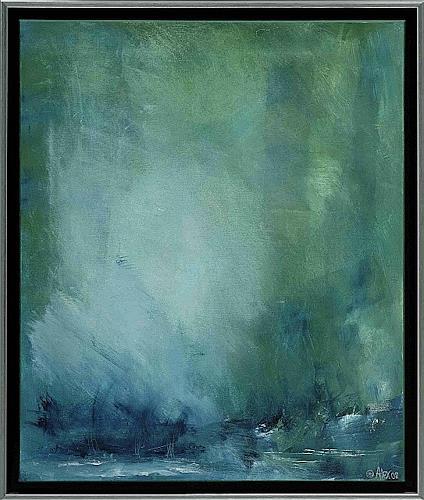 Alexandra von Burg, Luminosità spirituale, Abstract art, Abstract Art