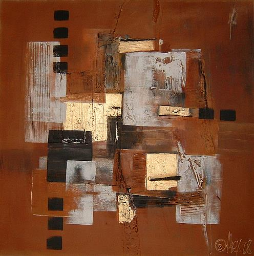 Alexandra von Burg, Sovrapposizioni, Abstract art, Abstract Art