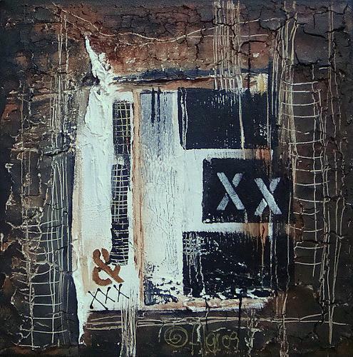 Alexandra von Burg, Perché?, Abstract art, Abstract Art, Modern Age