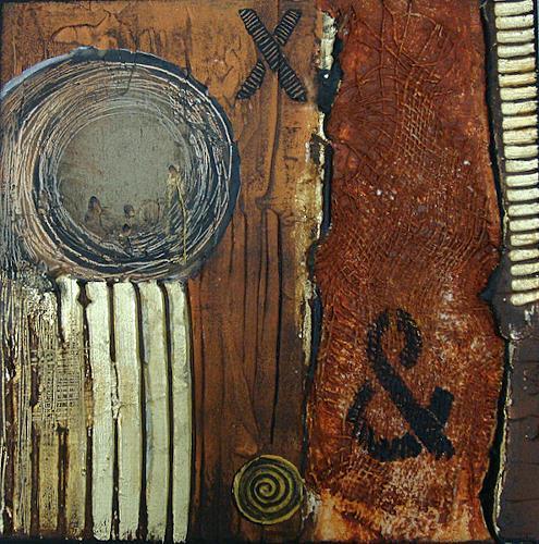 Alexandra von Burg, Mistero X & Y (1), Abstract art, Abstract Art, Expressionism