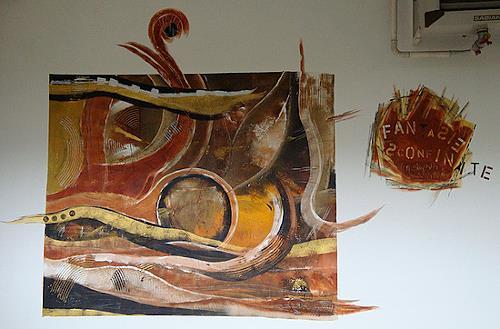 Alexandra von Burg, Fantasie sconfinate, Abstract art, Abstract Art, Modern Age