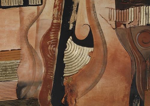 Alexandra von Burg, N/T, Abstract art, Abstract Art