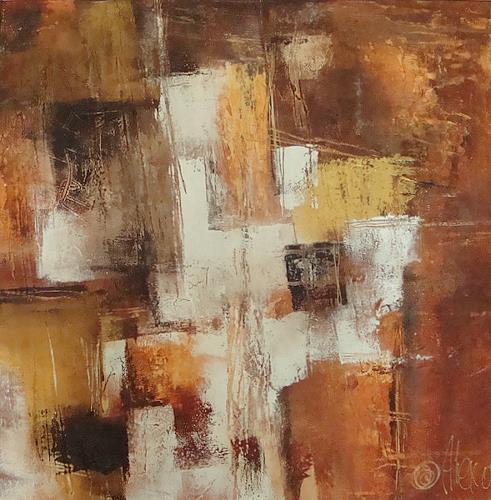 Alexandra von Burg, Caldi frammenti, Abstract art, Abstract art, Abstract Art, Modern Age