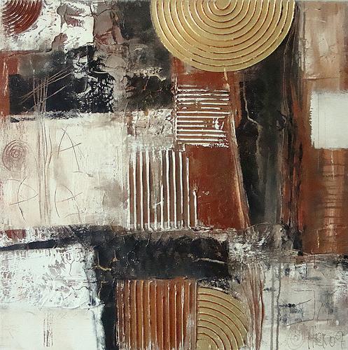 Alexandra von Burg, Oasi di benessere, Abstract art, Abstract Art