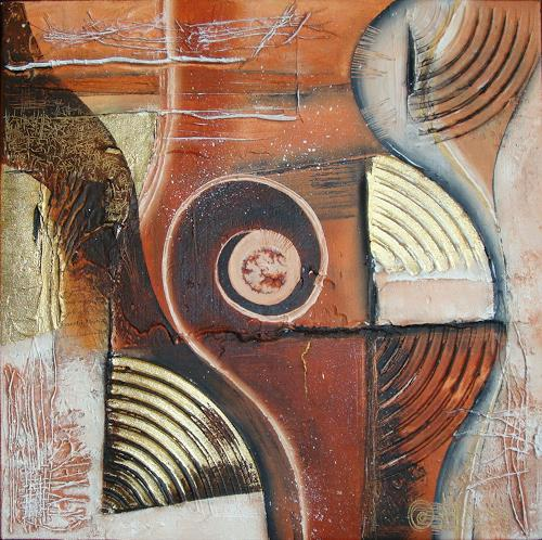 Alexandra von Burg, Un ritratto diverso, Abstract art, Abstract Art, Modern Age