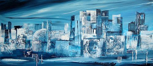 Alexandra von Burg, Carezza glaciale, Abstract art, Abstract Art, Modern Age